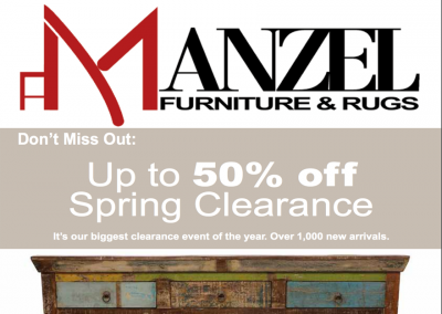 Manzel Furniture & Rugs