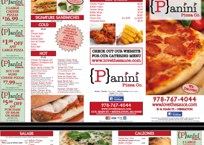 Panini Pizza Co.