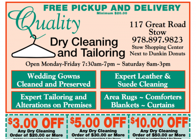 Quality Dry Cleaning & Tailoring