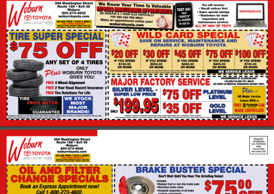 Toscana's peabody coupons